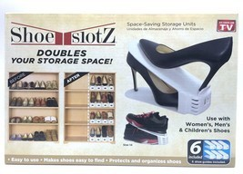 Shoe Slotz Space Saver 6 piece set New As Seen ... - $25.99