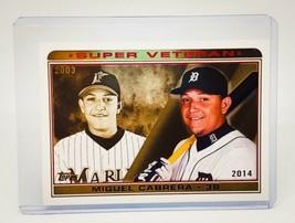 MLB MIGUEL CABRERA DETROIT TIGERS 2013 TOPPS SUPER VETERAN #SV2 MINT - $1.43