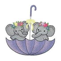 Nature Weaved in Threads, Amazing Baby Animal Kingdom [Umbrella Elephants] [Cust - $12.87