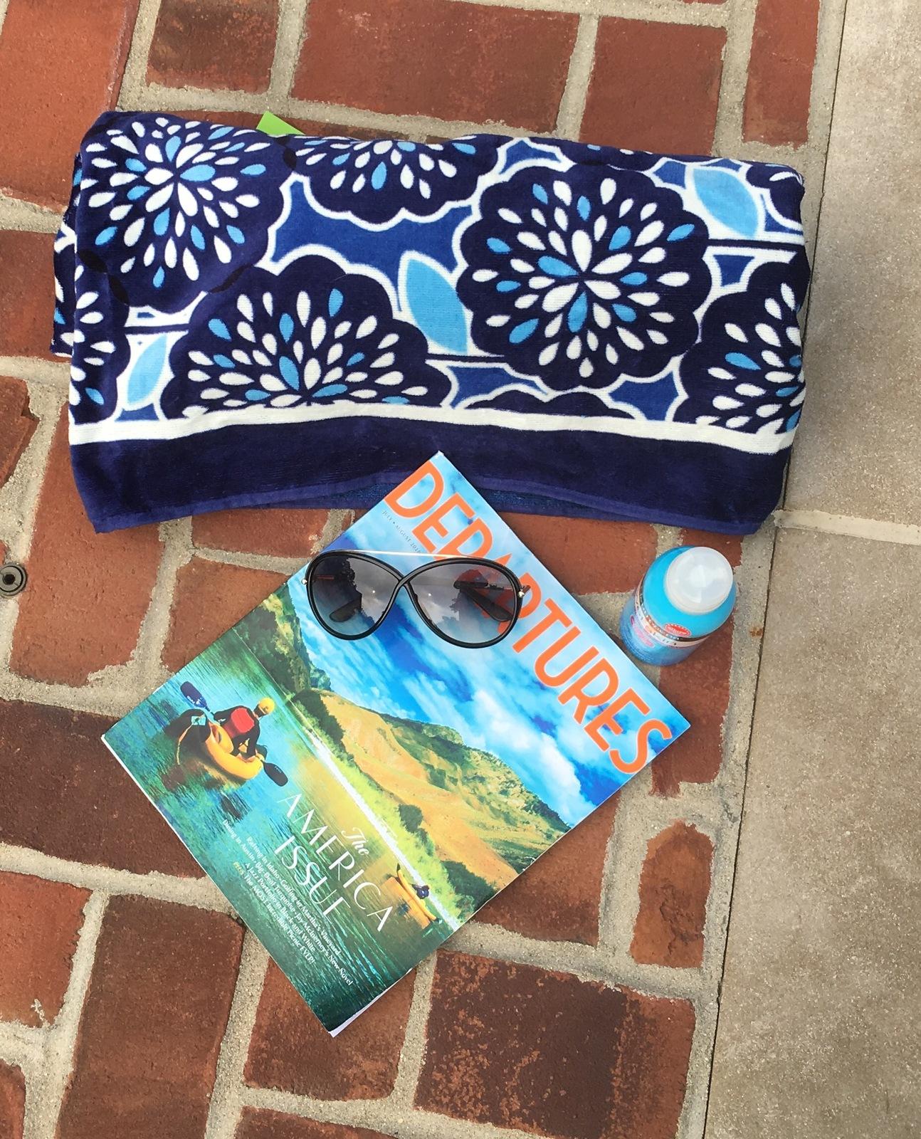 Vera Bradley Whale Beach Towel: Vera Bradley Petal Splash Beach Towel