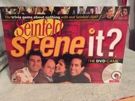Scene It? Seinfeld The DVD Board Game 2008 New Sealed. Jerry Kramer + Tr... - $19.25