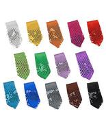 New Fashion Style Men's Unisex Sequin Neckties 14 Color Brand New - $4.99
