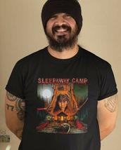 Sleepaway Camp T Shirt retro horror 1980s slasher movie 100% cotton graphic tee image 3