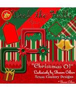 Christmas Digital Scrapbooking Kit 01 - $3.50