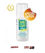 SALT OF THE EARTH Natural Mineral Salt Deodorant SPRAY 100ML - $21.24