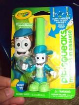 CRAYOLA Pip Squeaks Markers Disguise Series 2 Video Vince Verdigo Marker... - $13.20