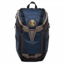 Avengers Infinity War Thanos Rear Zip Backpack Blue - $81.98