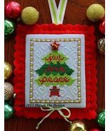 Blessings Tree EXCLUSIVE LINEN KIT christmas cross stitch kit Hands On D... - $16.00
