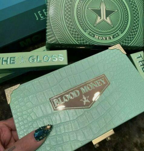 Jeffree Star Cosmetics Blood Money Palette 18 Shades Faux-Alligator Case New