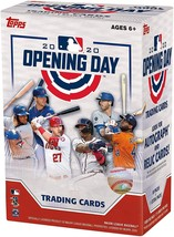 2020 Topps Opening Day MLB Trading Cards Blaster Box- 66 Cards + 11 Inse... - $41.99