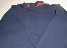 Auburn Tigers T-Shirt Large Long Sleeve Wide Collar Embroidery  NCAA - $13.99