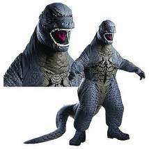 Adult Inflatable Godzilla Costume Japanese Movie Monster Costume 880856 - $83.79