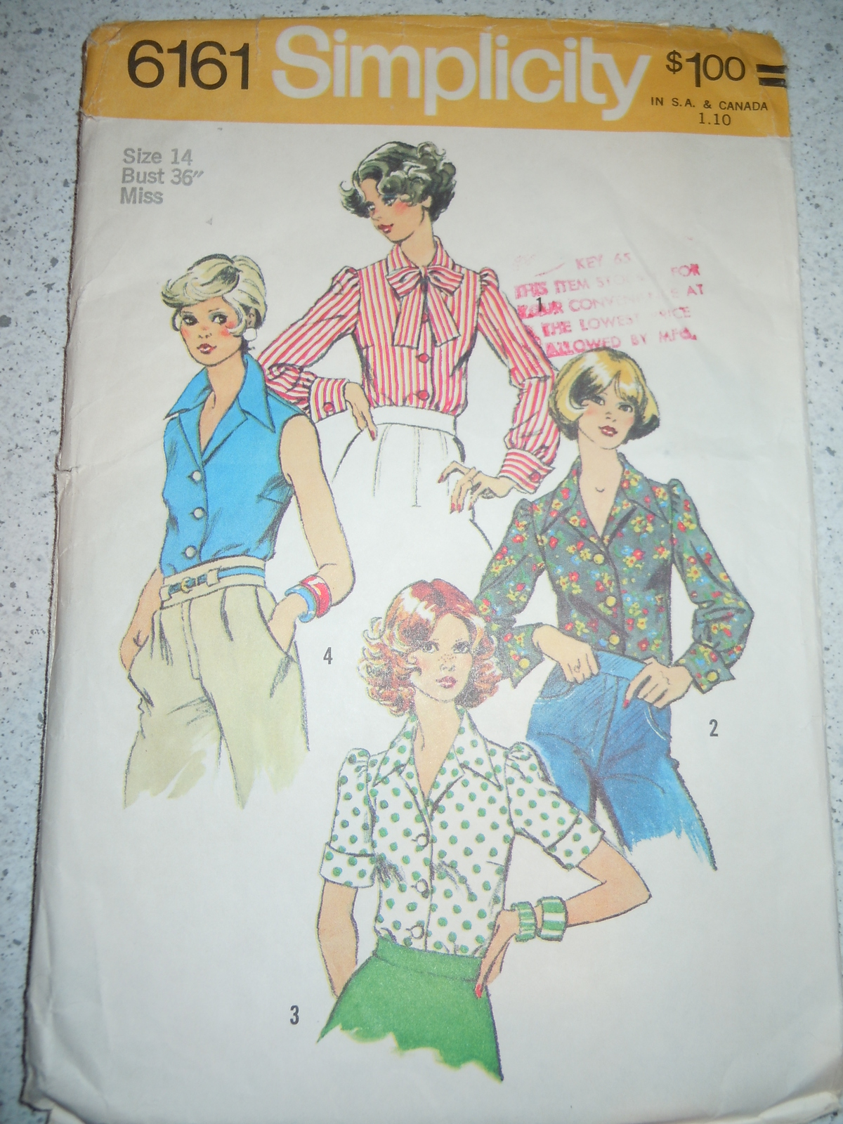 Simplicity 1965 Sewing Pattern (1960s): 16 listings