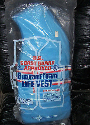 Type III PFD Blue Miltco Electra601-Adult Size Miltco Electra Life Vest / Jacket