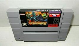 Super Nintendo SNES Ghouls N Ghosts Game Cartridge 1991 - $34.99