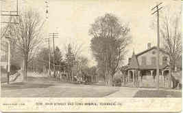 York and Mix Avenues Towanda Pennsylvania 1906 Post Card - $5.00
