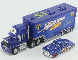 Pixar Cars No.51 Mack Truck Fabulous Hudson Hornet Cars Toys For Children - $27.99