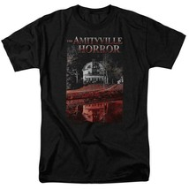 The Amityville Horror House Lutz Family Retro 70s 80s Paranormal T-shirt MGM325 image 1