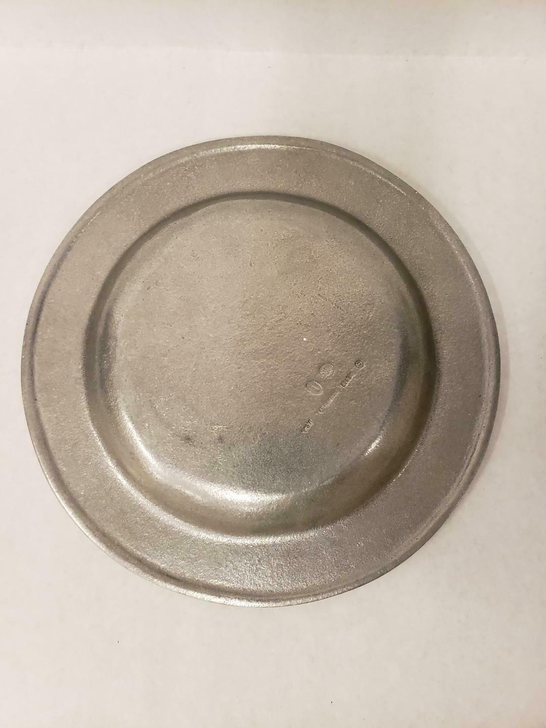 """Wilton Armetale Plate Health Love And Wealth And Time To Enjoy Them 9.25"""""""