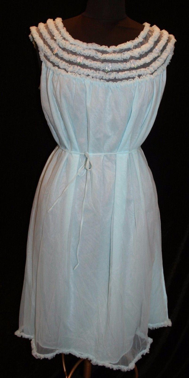 4efabea9d Adonna Sz M Vtg Nightie Nightgown Lingerie and 23 similar items
