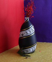 eKolhapuri Warali Design Teracotta Vase - $41.00