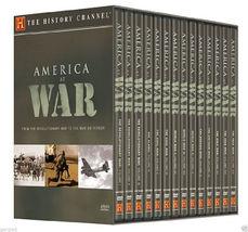 America at War Megaset 14-Disc Set - History Channel [New] - $76.88