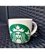 Starbucks White Green Coffee Tea Mug Classic Mermaid Logo 2017 14 fl oz ... - $14.99