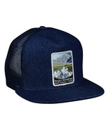 Rocky Mountain National Park Trucker Hat by LET'S BE IRIE - Blue Denim S... - £17.26 GBP