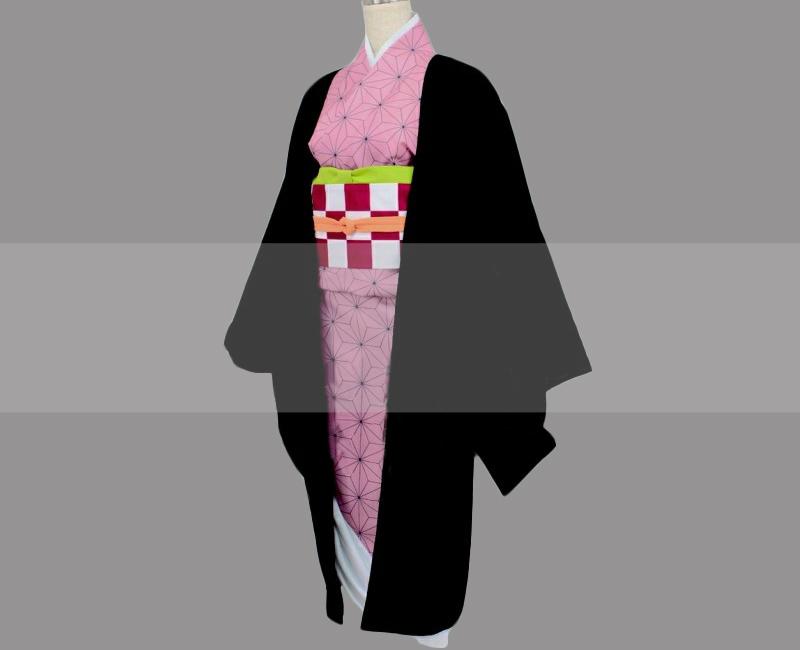 Customize Kimetsu no Yaiba Nezuko Kamado Cosplay Costume Outfit Buy