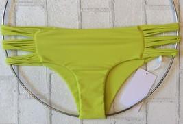 Mikoh Velzyland Skinny String Triple Looped Skimpy Itsy Brazilian Bikini Bottom - $59.95