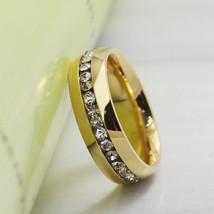 2pcs rhinestone couple ring set promise wedding engagement wedding rings... - $305,17 MXN