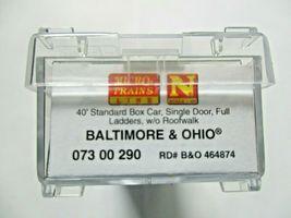 Micro-Trains # 07300290 Baltimore & Ohio 40' Standard Boxcar N-Scale image 5
