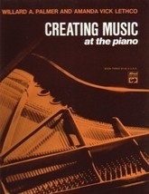 Creating Music At The Piano Book 3 Piano Lesson Book - $7.95