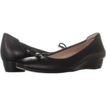 naturalizer Dove Wedge Ballet Flats 775, Black, 8 N - $41.27