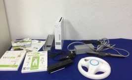 USED Nintendo Wii White System Console Bundle #2 - Works! - $65.99