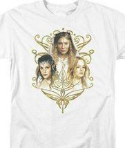Lord Of The Rings Arwen Eowyn Galadriel J.R Tolkien Graphic Tshirt LOR1029 image 3