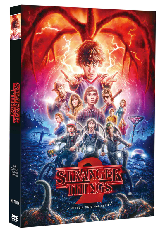 Stranger Things The Complete Season 2 (DVD, 2017, 3 Disc Set) Free Shipping