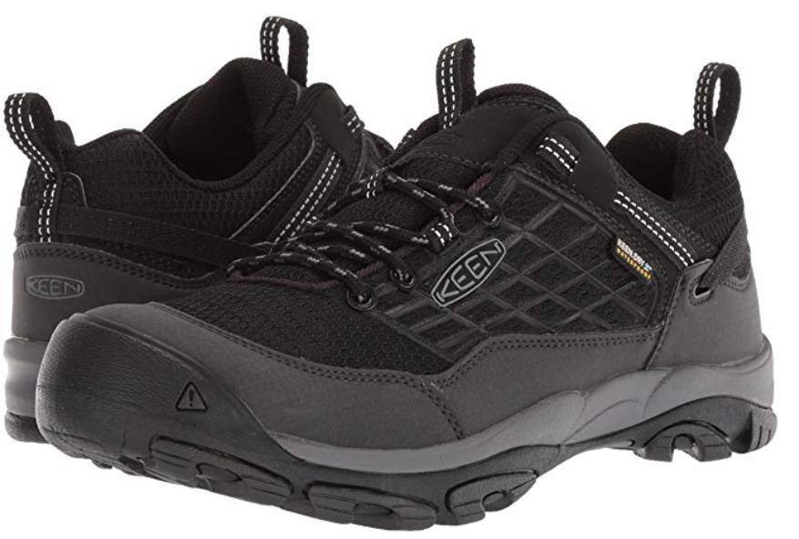 Keen Saltzman Size 9 M (D) EU 42 Men's Waterproof Trail Hiking Shoes Black/Raven