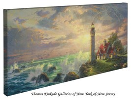 "Thomas Kinkade Wrap - Guiding Light – 16"" x 31""... - $165.00"