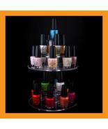nail polish display rotating organizer spinning... - $37.00