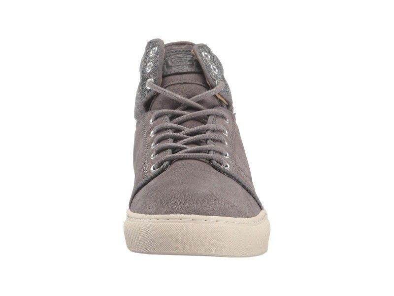 VANS Alomar (Tweed) Gray UltraCush Leather Skate Shoes MEN'S 8 image 5