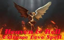 HEAVEN AND HELL EXTREME LOVE SPELL forever binding for eternity of 2 souls  - $299.00