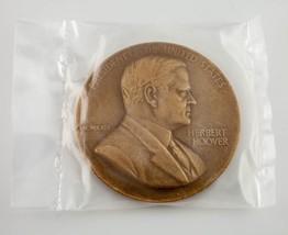 Herbert Hoover Presidential Bronze Medal US Mint Department of the Treasury - $31.18