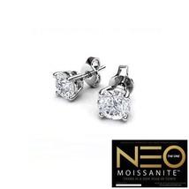 1.00 Carat NEO Moissanite Stud Earrings in 14K Gold (with NEO warranty c... - $499.00