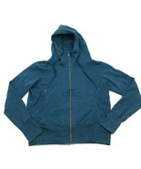 Champion Full Zip Hoodie Sweater Jacket Women's Size Extra Large Blue Sw... - $23.53