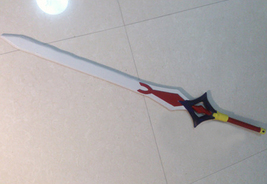 Fairy Tail Erza Scarlet Black Wing Armor Cosplay Weapon Props buy - $149.00