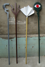 Fairy Tail Mystogan Magic Staves Cosplay Props Buy - $270.00+