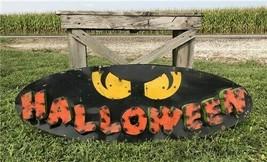 Large Halloween Metal Sign, Halloween Wall Hanging, Halloween Decoration... - $150.00