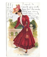 Miss Cleveland AS Archie Gunn Beautiful Stylish Woman Vintage 1906 UDB P... - $4.99
