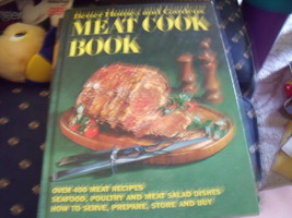 Better Homes & Gardens Meat Cook Book from 1969 includes seafood, poultry & game - $12.00